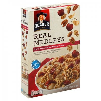 Real Medleys Cherry Almond Pecan Multigrain Cereal