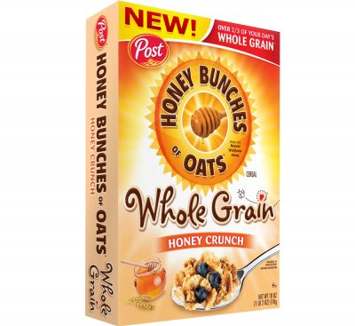 Whole Grain Honey Crunch Cereal
