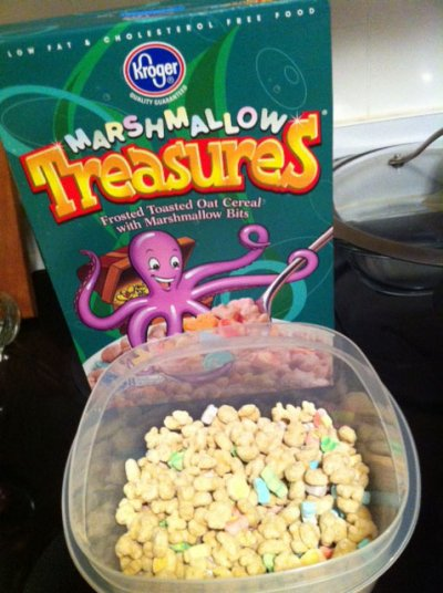 Cereal, Marshmallow Treasures