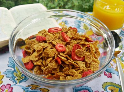 Cereal, Red Berries