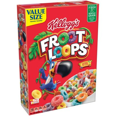 Cereal, Sweetened Multigrain, Tootie Fruities