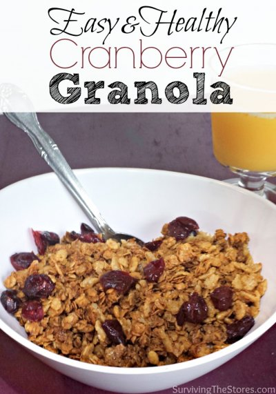 Granola Cranberry Cereal