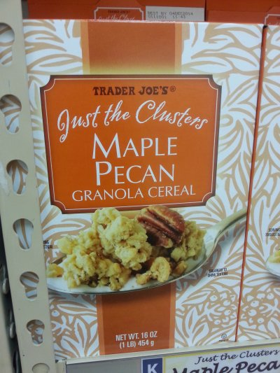 Just The Clusters Maple Pecan Granola Cereal