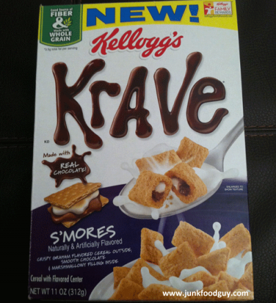 Krave S'mores Cereal