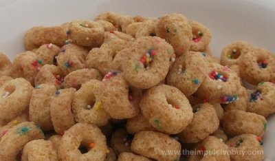 Sprinkled Donut Crunch, Sweetened Corn And Oat Cereal
