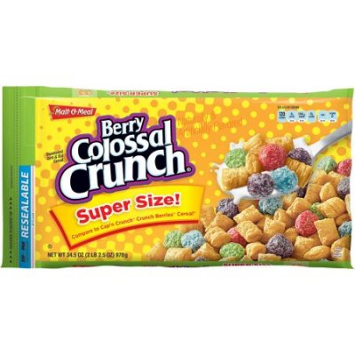 Berry Colossal Crunch Cereal