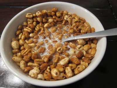 Cereal, Puffed Wheat with Honey, Honey Puffs