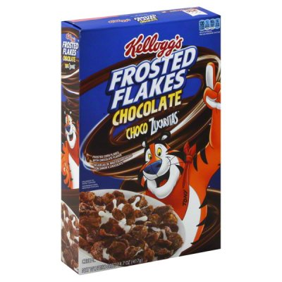 Chocolate Flavored Frosted Flakes Cereal