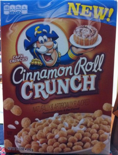 Cinnamon Roll Crunch Cereal
