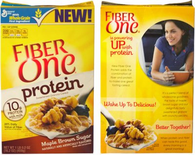 Fiber One Protein Cereal, Maple Brown Sugar