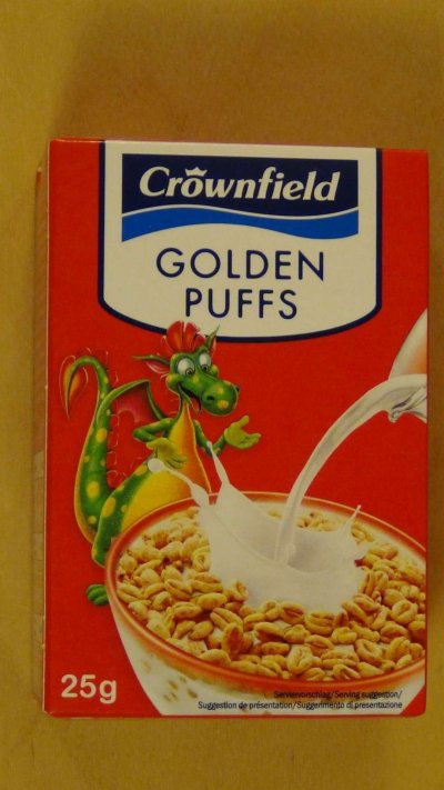 Golden Puffs