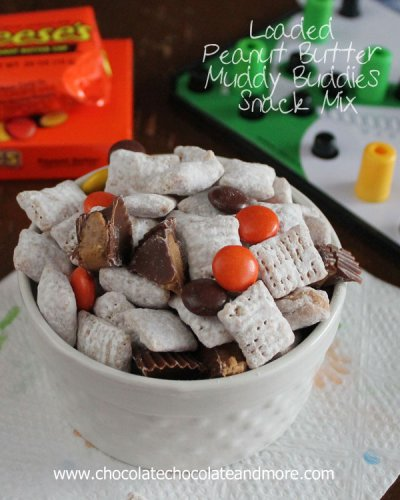 Muddy Buddies Peanut Butter and Chocolate Snack Mix