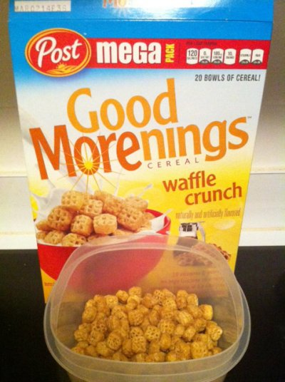 Waffle Crunch Cereal