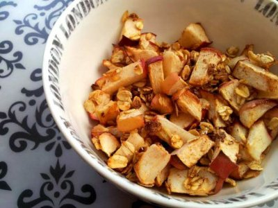Cereal, Apple Cinnamon Toasted Oats