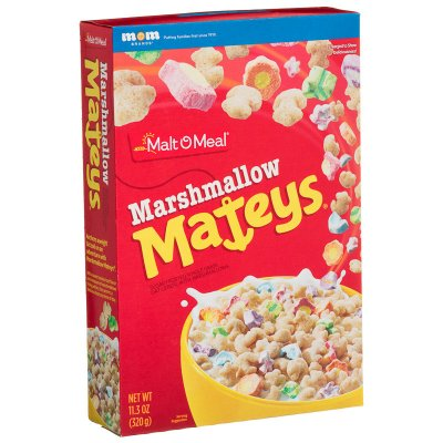 Chocolate Marshmallow Mateys Cereal