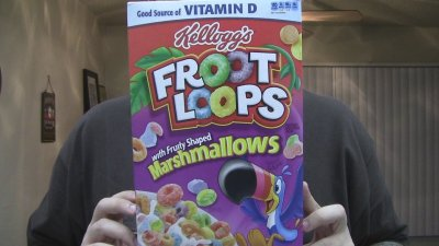 Froot Loops, Marshmallow With Fruity Shaped
