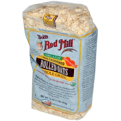 Organic Rolled Oats, Old Fashioned, Whole Grain