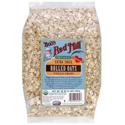 Whole Grain Rolled Oats, Extra Thick, Organic