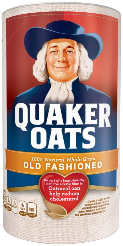 100% Natural Oatmeal, Old Fashioned