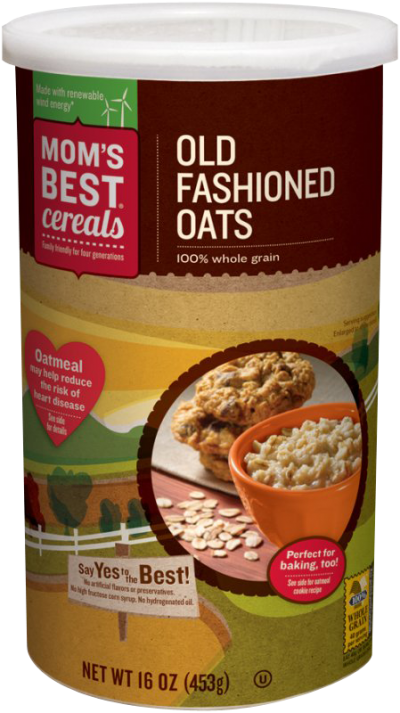 Oats,100% Whole Grain Old Fashioned