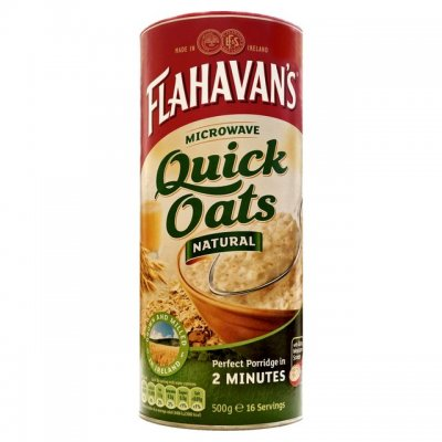 Oats, Quick, Microwaveable
