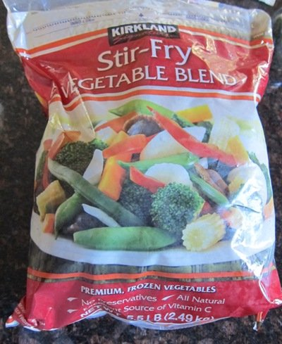Frozen Deluxe Vegetables, Sugar Snap Stir-Fry