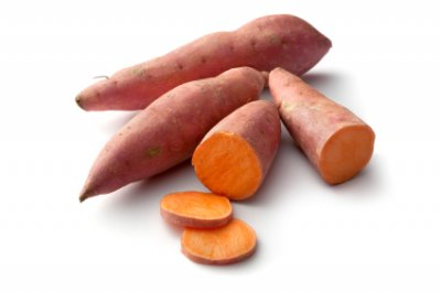 Organic, Sweet Potato / Yam / Kumara, Red / Orangy, Red, Flesh, Large