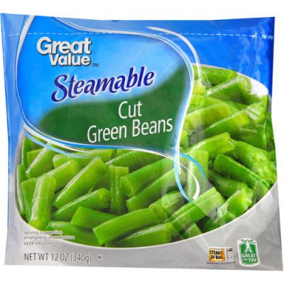 Steamable Whole Green Beans