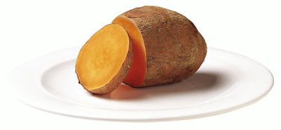 Sweet Potato / Yam / Kumara, Red / Orangy, White, Flesh, Small