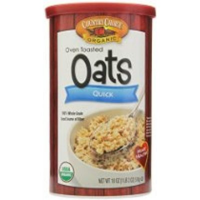 Oats, Oven Toasted, Quick, Organic