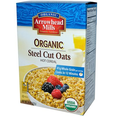 Organic Steel Cut Oats Cereal