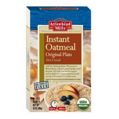 Orgnaic Original Instant Oatmeal Good Source Of Fiber