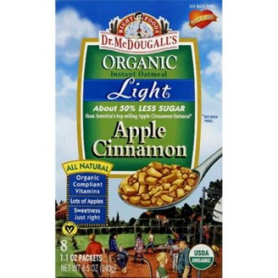 Right Foods, Instant Oatmeal, Organic, Original