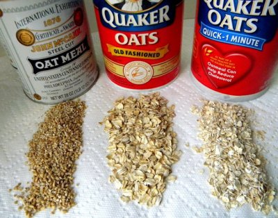 Rolled Oats, Quick Cooking