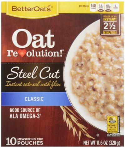 Steel Cut Oats, Hearty 100% Natural Whole Grain Oats