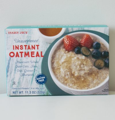 Unsweetened Instant Oatmeal