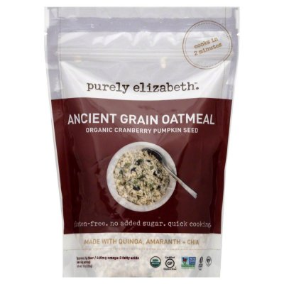 Ancient Grain Oatmeal, Organic Cranberry Pumpkin Seed
