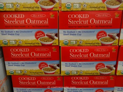 Certified Organic Steel Cut Oats