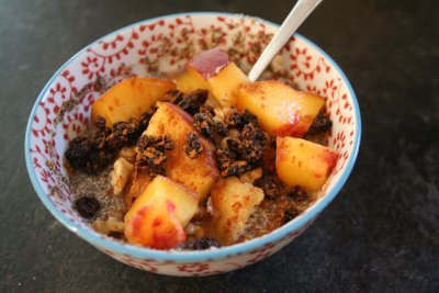 Chia Nuts & Seeds hot Cereal Blend