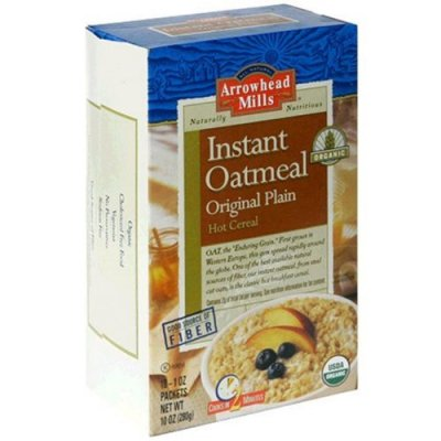 Hot Cereal, Instant Oatmeal, Original Plain