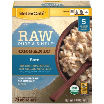 Raw Pure & Simple, Steel Cut Oats