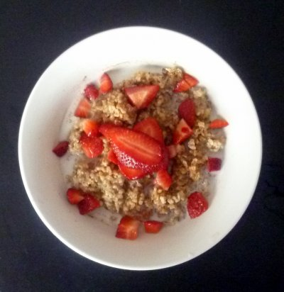 Steel Cut Oats With Flax