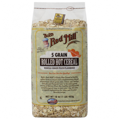 Whole Grain Rolled Hot Cereal, 5 Grain