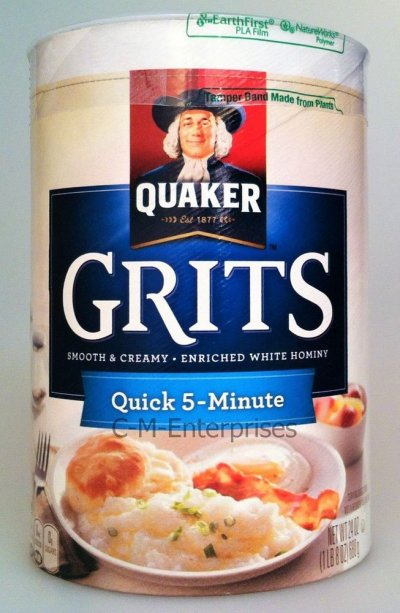 Grits, Enriched White Hominy