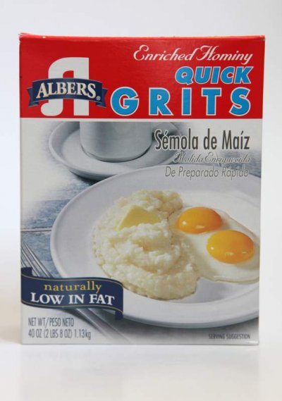 Grits,Quick Enriched Hominy