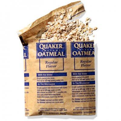 Instant Oatmeal, Regular Flavor