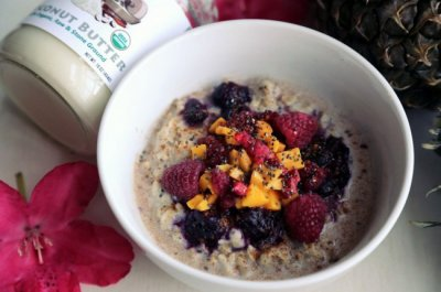 Superfood, Oatmeal, Creamy Coconut