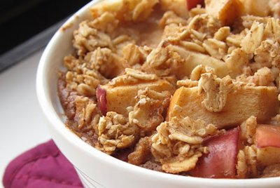 Apple Pie Flavored Oatmeal