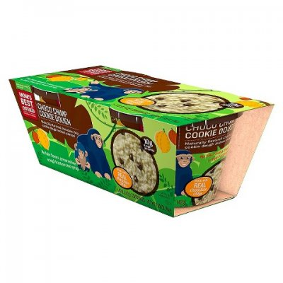 Choco Chimp Cookie Dough, Made With Real Chocolate Chips