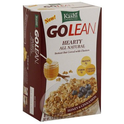 Instant Hot Cereal With Clusters, Honey & Cinnamon